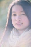 κινεζική γυναίκα πορτρέτ&omicr Στοκ Φωτογραφία
