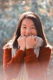 κινεζική γυναίκα πορτρέτ&omicr Στοκ φωτογραφίες με δικαίωμα ελεύθερης χρήσης