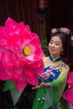 Κινεζική γυναίκα Στοκ φωτογραφία με δικαίωμα ελεύθερης χρήσης
