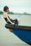 Κινεζική γυναίκα Στοκ εικόνες με δικαίωμα ελεύθερης χρήσης