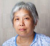Κινεζική γυναίκα Middleage στοκ εικόνες