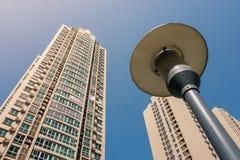 Κινεζική διαβίωση Spac ανάπτυξης πολυόροφων κτιρίων πολυκατοικίας ψηλή Στοκ Εικόνα