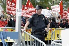 Κινεζική διαμαρτυρία Στοκ Εικόνες