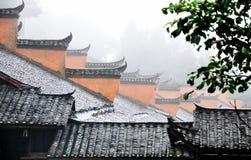 κινεζική επαρχία αρχιτεκ Στοκ Φωτογραφία