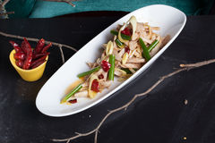 Κινεζική ζωή εστιατορίων σαλάτας κοτόπουλου ακόμα Στοκ εικόνες με δικαίωμα ελεύθερης χρήσης