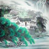 κινεζική ζωγραφική παραδ& ελεύθερη απεικόνιση δικαιώματος