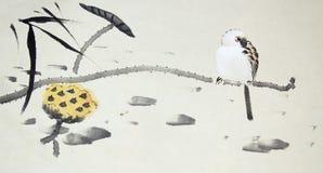 κινεζική ζωγραφική παραδ& απεικόνιση αποθεμάτων