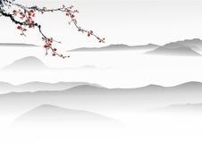 Κινεζική ζωγραφική Στοκ φωτογραφία με δικαίωμα ελεύθερης χρήσης
