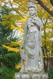 Κινεζική θεά στο ναό Zojoji στοκ φωτογραφία με δικαίωμα ελεύθερης χρήσης