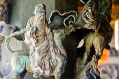 Κινεζική διακόσμηση θεοτήτων Στοκ φωτογραφία με δικαίωμα ελεύθερης χρήσης