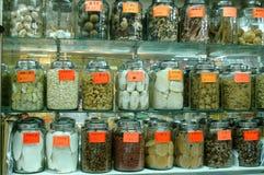 κινεζική ιατρική παραδοσιακή Στοκ Εικόνα