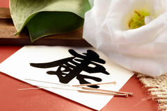 κινεζική ιατρική στοκ φωτογραφία