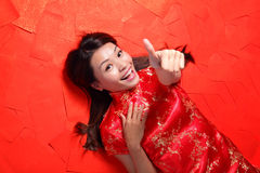 κινεζική καλή χρονιά Στοκ Φωτογραφίες