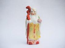 Κινεζική κεραμική κούκλα Στοκ εικόνες με δικαίωμα ελεύθερης χρήσης
