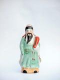 Κινεζική κεραμική κούκλα Στοκ φωτογραφία με δικαίωμα ελεύθερης χρήσης