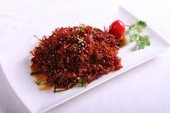κινεζική κουζίνα Στοκ φωτογραφία με δικαίωμα ελεύθερης χρήσης