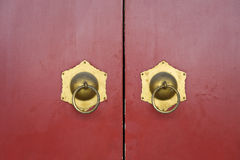 Κινεζική κόκκινη πόρτα Στοκ Εικόνες