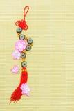 Κινεζική νέα διακοσμητική διακόσμηση έτους Στοκ Φωτογραφία