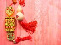 Κινεζική νέα διακοσμητική διακόσμηση έτους Στοκ εικόνες με δικαίωμα ελεύθερης χρήσης