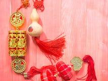 Κινεζική νέα διακοσμητική διακόσμηση έτους Στοκ φωτογραφίες με δικαίωμα ελεύθερης χρήσης