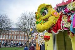 Κινεζική νέα παρέλαση οδών έτους του Λίβερπουλ Στοκ Εικόνες