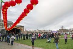 Κινεζική νέα παρέλαση οδών έτους του Λίβερπουλ Στοκ Εικόνα