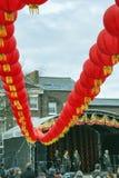 Κινεζική νέα παρέλαση οδών έτους του Λίβερπουλ Στοκ εικόνα με δικαίωμα ελεύθερης χρήσης