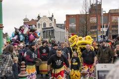 Κινεζική νέα παρέλαση οδών έτους του Λίβερπουλ Στοκ φωτογραφίες με δικαίωμα ελεύθερης χρήσης