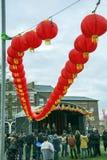 Κινεζική νέα παρέλαση οδών έτους του Λίβερπουλ Στοκ εικόνες με δικαίωμα ελεύθερης χρήσης
