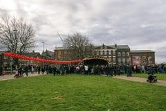 Κινεζική νέα παρέλαση οδών έτους του Λίβερπουλ Στοκ φωτογραφία με δικαίωμα ελεύθερης χρήσης