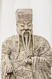 κινεζική πέτρα κουκλών Στοκ εικόνα με δικαίωμα ελεύθερης χρήσης