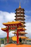 κινεζική παγόδα στοκ εικόνα