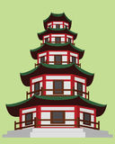 Κινεζική παγόδα Στοκ εικόνες με δικαίωμα ελεύθερης χρήσης