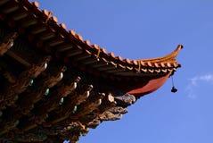 Κινεζική παραδοσιακή κατασκευή Στοκ φωτογραφία με δικαίωμα ελεύθερης χρήσης