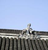 Κινεζική παραδοσιακή παλαιά στέγη Στοκ Φωτογραφίες
