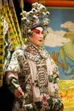 κινεζική πλαστή όπερα Στοκ φωτογραφία με δικαίωμα ελεύθερης χρήσης