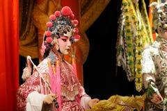 κινεζική πλαστή όπερα Στοκ φωτογραφίες με δικαίωμα ελεύθερης χρήσης