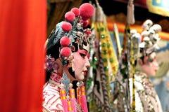 κινεζική πλαστή όπερα Στοκ Εικόνα