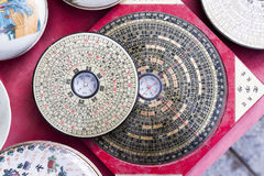 κινεζική πυξίδα Στοκ Φωτογραφίες