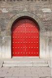 κινεζική πόρτα παραδοσια& Στοκ εικόνες με δικαίωμα ελεύθερης χρήσης