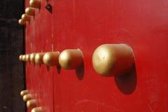 κινεζική πόρτα παραδοσια& Στοκ Εικόνα