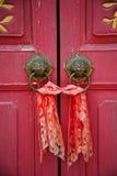 κινεζική πόρτα παλαιά Στοκ εικόνα με δικαίωμα ελεύθερης χρήσης