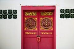κινεζική πόρτα παλαιά Στοκ εικόνες με δικαίωμα ελεύθερης χρήσης
