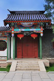 κινεζική πόρτα Στοκ φωτογραφία με δικαίωμα ελεύθερης χρήσης