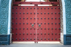 Κινεζική πόρτα Στοκ Εικόνες