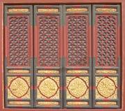 κινεζική πόρτα Στοκ Φωτογραφίες