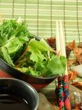 κινεζική σαλάτα Στοκ Εικόνα