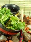 κινεζική σαλάτα Στοκ Εικόνες