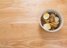 Κινεζική σούπα νουντλς ρόλων Στοκ Εικόνα