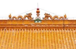 κινεζική στέγη παραδοσιακή Στοκ Εικόνα